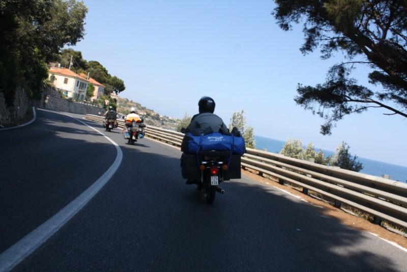Mit der Simson an die Côte d'Azur