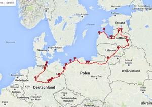 The Three funny Four – Tour 2014 Estland